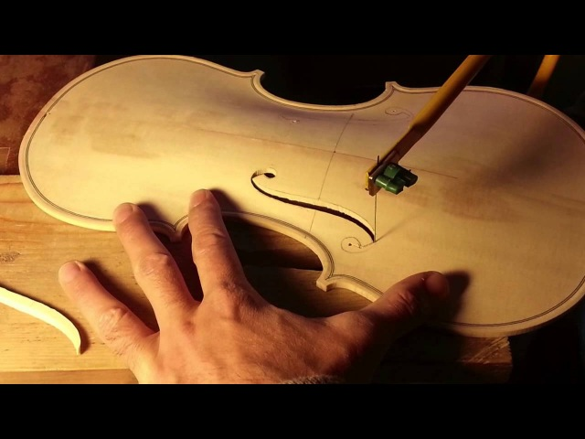 Keman Yapım Aşamaları - The Process of Violin Making