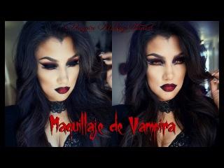 VAMPIRA maquillaje FACIL/ Sexy Vampire Makeup Tutorial | auroramakeup