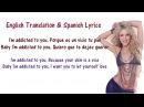 Shakira Addicted To You Lyrics English and Spanish