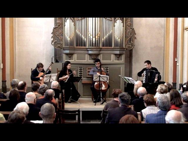 Moldavian Folk Dances ACCORDION Guitar Domra Cello Kurylenko Accordeon Куриленко баян