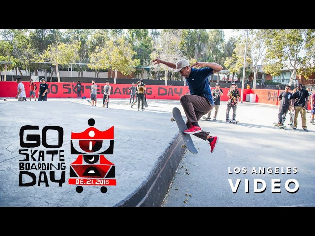 Go Skateboarding Day in LA with Nyjah Huston, Paul Rodriguez, Eric Koston, and more | GrindTV