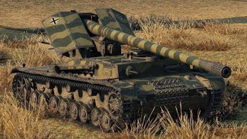 World of Tanks Waffenträger auf Pz. IV - 4 Kills 9,5K Damage
