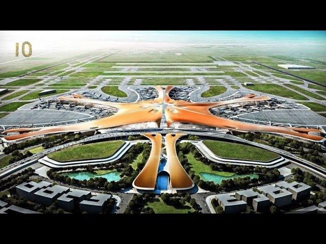 Самые большие аэропорты мира ТОП 10 Хитроу Даллас Дубай Шарль де Голль Чикаго Пекин Атланта