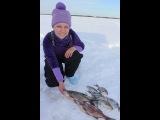 Рыбачка Кэт 8 Марта на рыбалке (первый день)