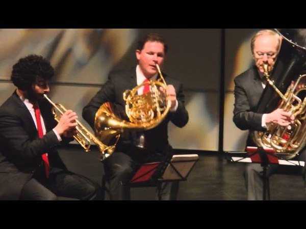 Glenn Miller Tribute (The Canadian Brass at Flato Markham Theater 12 - 18- 2015).MOV