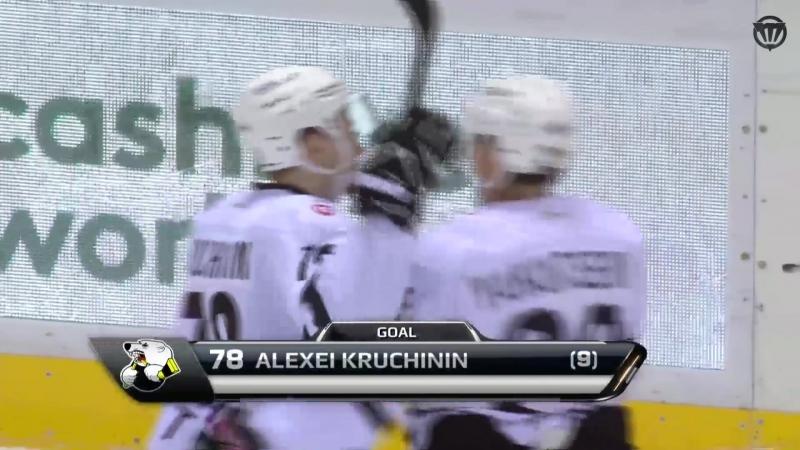 Дубль Алексея Кручинина в матче со Слованом - 11 января 2018