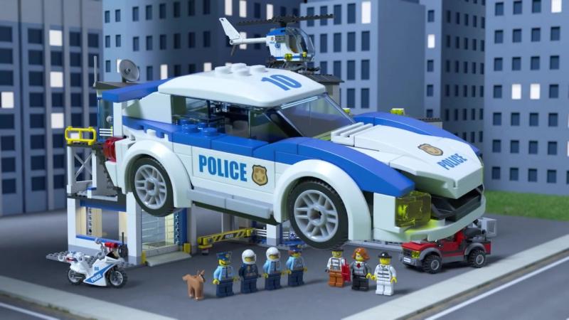 LEGO City Конструктор Полицейский участок