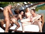 Blue Angel, Kid Jamaica, Linet Slag, Rocco, Shione Cooper  (Anal All Sex POV porn HD Анал Секс Порно 2017)