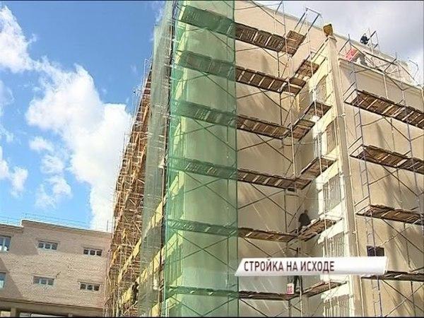 Строительство пристройки к 43 школе Ярославля планируют закончить этим летом