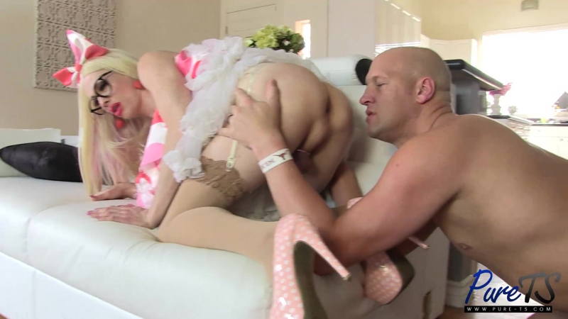 Pure TS Tara Emory Christian Hot MILF Wants Anal Sex In Her Kitchen Shemale, Transsexual, Anal, Hardcore,