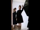 Инстаграм история 42 За кадром съёмки для Alisia Fiori