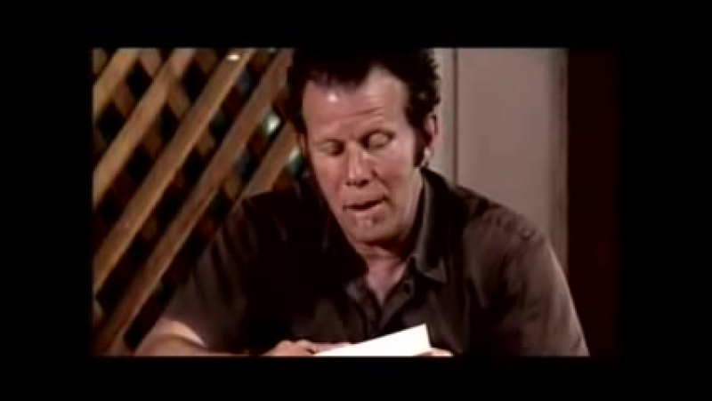 The laughing heart Tom Waits reads a Charles Bukowski poem