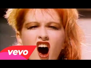 Cyndi lauper - girls just want to have fun (1983)  клип. музыка 80-х
