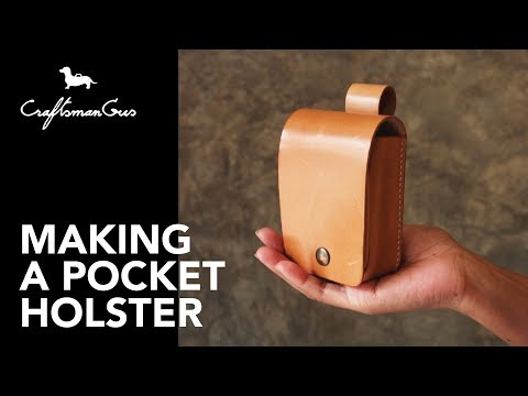 Making Pocket Holster LeatherAddict EP33