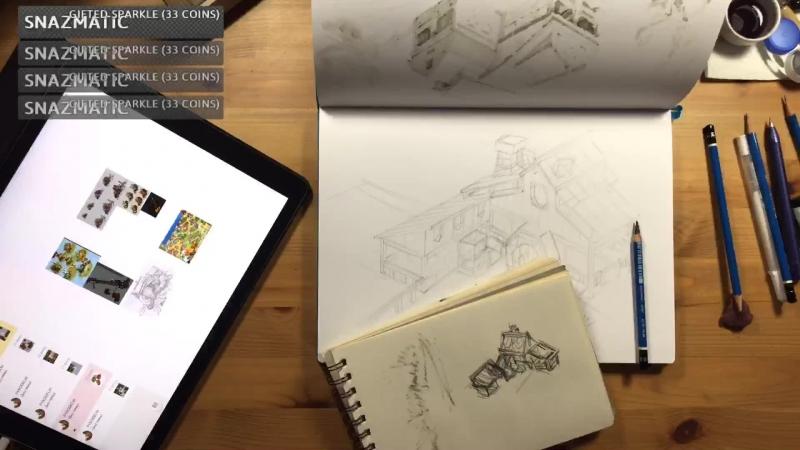 Inking game buildings pt6 gameart ink artwork indiedev gamedev building inking illustration sketch game drawing sket