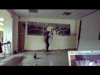 Первый в России граффити-принтер испытали в Новосибирске