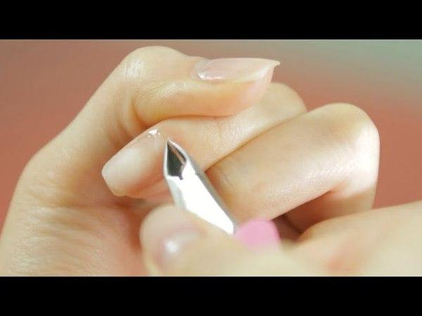(ENG SUB) 셀프네일케어 A to Z! 큐티클 제거49552톱 모양 다듬기(Nail care Tip s - elimination cuticle nail treatment)