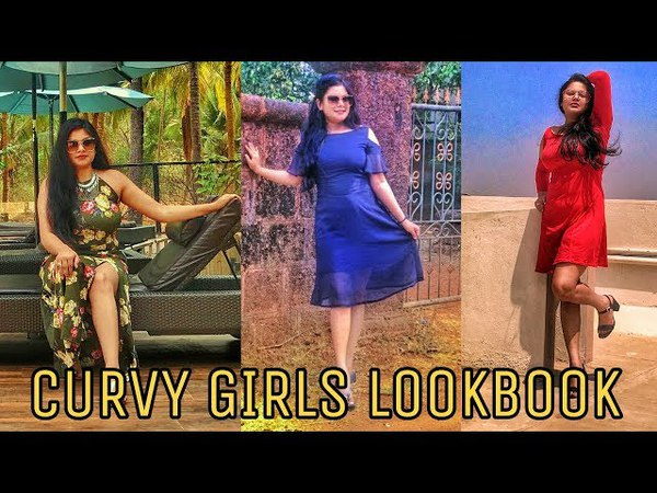 Curvy Girls SUMMER LookBook 2018 Ft SLOPPINS India's 1st Customised online store