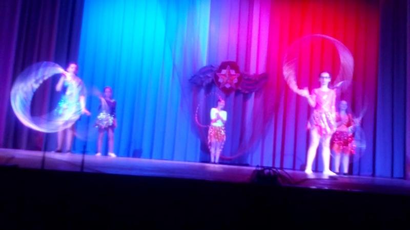 Концерт к 23 февраля цирковой коллективНепоседы