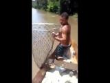 вот это рыбалка
