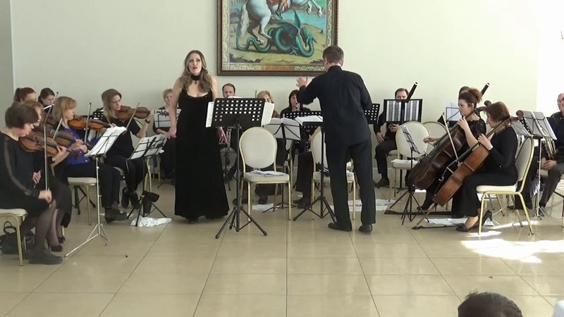 08 К Сен Санс Третья Ария Далилы из оперы «Самсон и Далила» Ольга Бузько