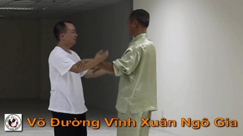 DAI SIFU NGUYEN NAM VINH STICKING HANDS IMPROV FEELINGS TRAINING Võ Đường Vĩnh Xuân Ngô Gia