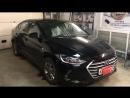 Установка автозапуска двигателя на Hyundai Elantra new.