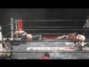 Daisuke Masaoka, Takashi Sasaki, Isami Kodaka vs. Violento Jack, Masashi Takeda, Kenji Fukimoto (FREEDOMS - Shin-kiba 1st RING)