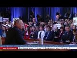 3 часа 40 минут, 73 вопроса, 1640 журналистов. В Москве в 13-й раз прошла большая пресс-конференция Президента РФ Владимира Пути