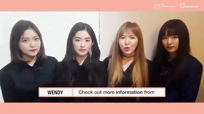 [CLIPOFFICIAL] 180328 REDVELVET 레드벨벳 invitation for Fanmeet in Chicago this 429 CDT @ Rosemont Theatre