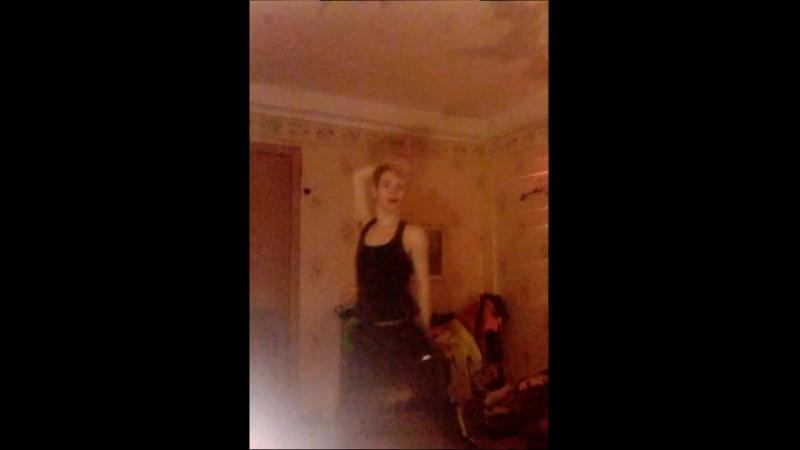 репетиция. стриптиза танец разминка