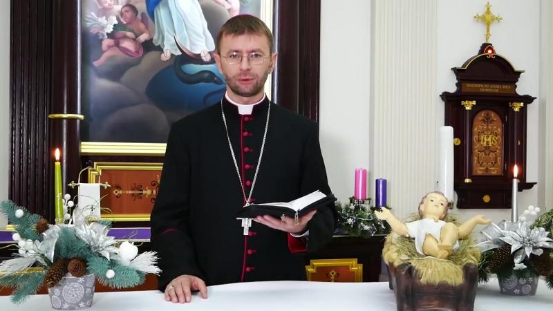 Різдвяне привітання єпископа Едварда Кави