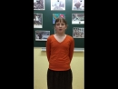 Дарья Тихонова. школа №1, 3 б класс. Стих собственного сочинения Победа