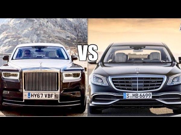 Rolls Royce Phantom VS Maybach S600 - World's Luxurious Car Goes To??
