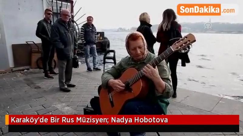 Русский романс на берегу Босфора: Надежда Хоботова (Каракёй/Стамбул)