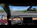 ДЕРЕВЯННАЯ ЭЛЕКТРИЧКА Tesla Model 3 в City Car Driving РУЛЬ