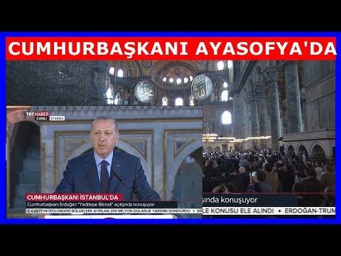 Cumhurbaşkanı Erdoğan'ın İstanbul Yeditepe Bienali Açılış Konuşması 31.3.2018