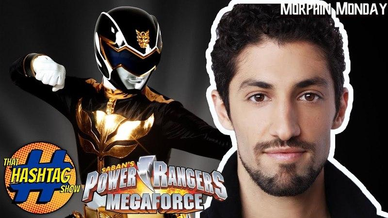 Azim Rizk (Black Megaforce Ranger) takes on the Ranger Challenge : Morphin Monday