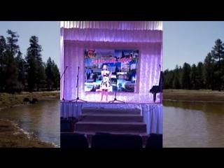 Юлия Захарова с песней -