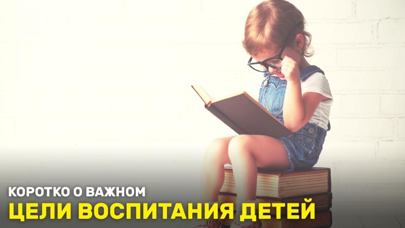 Цели воспитания детей. «Коротко о важном»