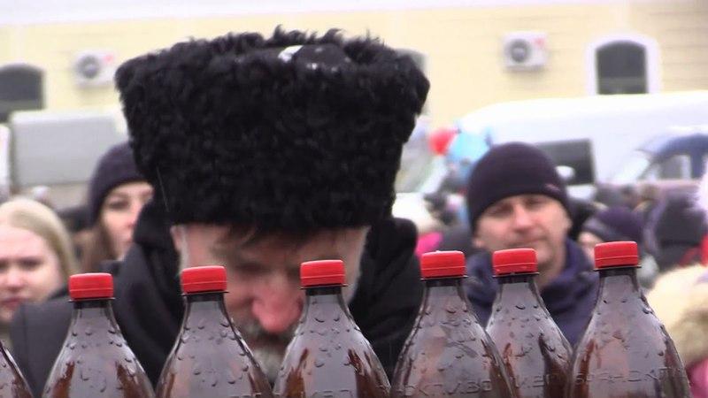 Проводы зимы 2018 Городская Масленица Советский район г Брянска