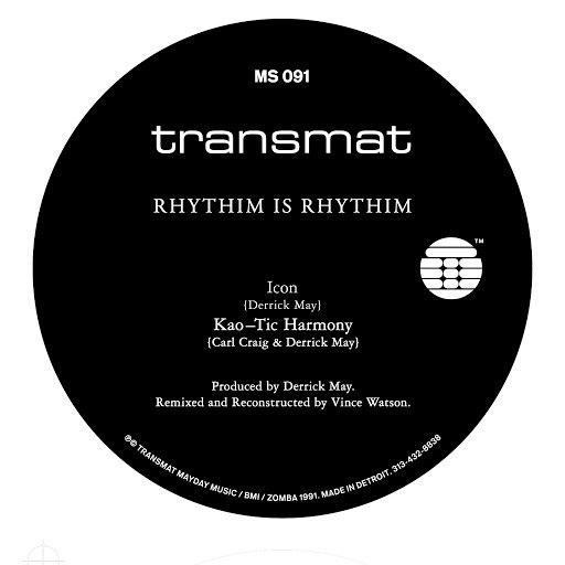 Rhythim is Rhythim альбом Icon (Remixed & Reconstructed)