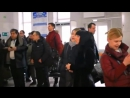 Флеш моб на вокзале г.Владимир