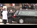 The late Malcolm Young is farewelled at St Marys Cathedral, Sydney.