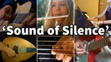Who Played It Better The Sound of Silence (Oud, Guitar, Piano, Flute, Electric Guitar)