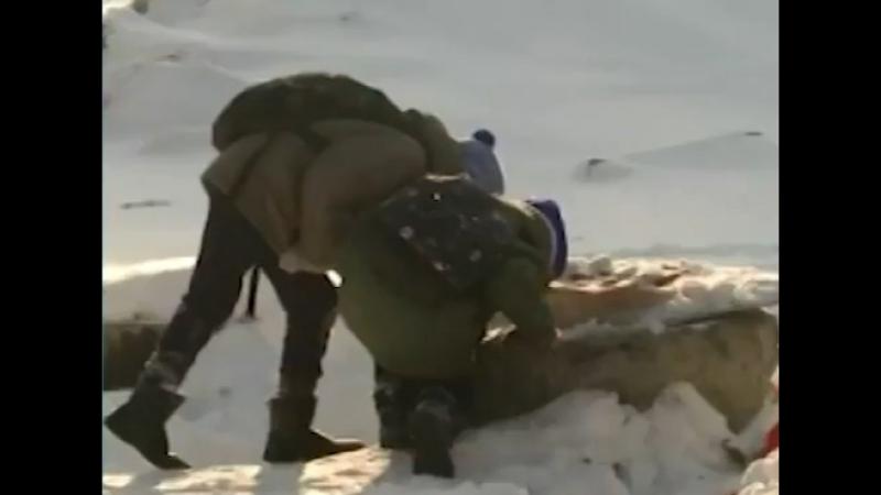 Дети погибли (упали в котлован с ледяной водой)