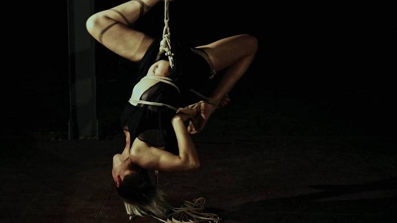 Shibari Bondage - Self Suspension Pracitce