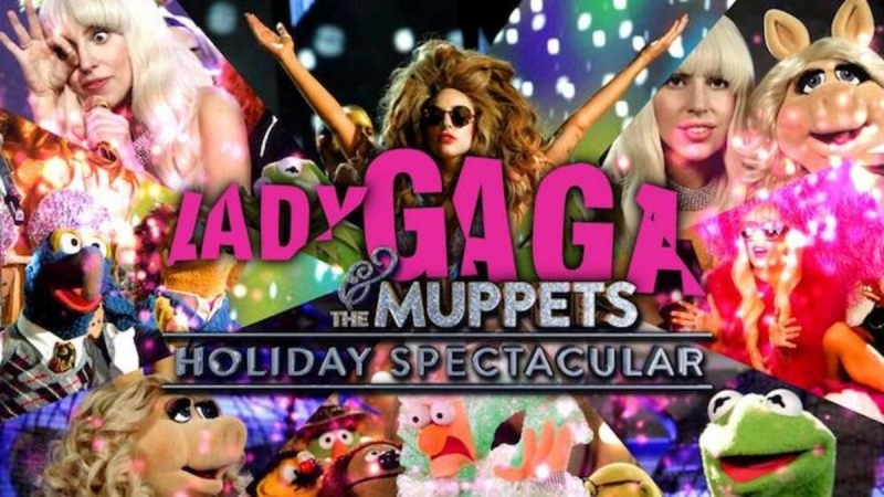 Lady Gaga The Muppets — Holiday Spectacular