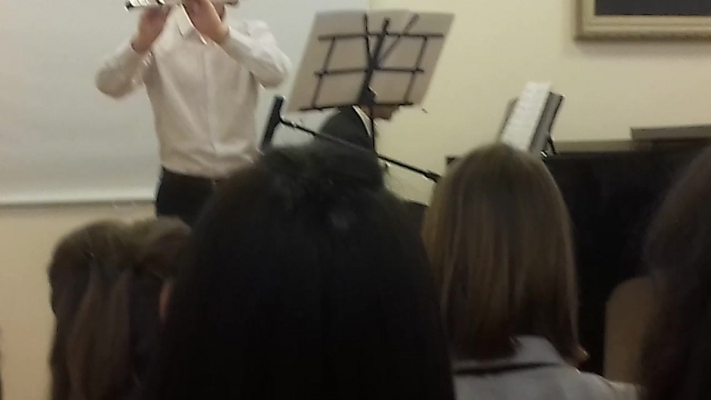 Долина грёз для флейты и фортепиано (автор Али Сатар)