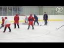 Легендарный олимпийский чемпион встретился с воспитанниками хоккейного клуба Ви